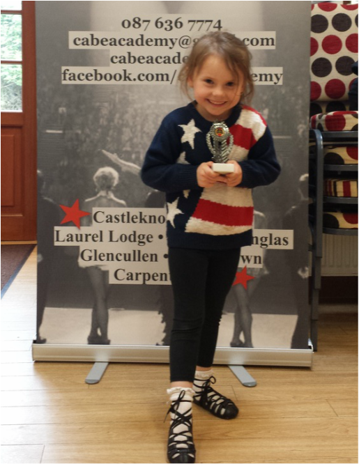 Cabe Academy of Irish Dancing Dancer of the week